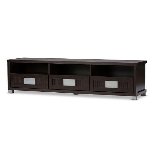 Baxton Studio Gerhardine 63-in. TV Cabinet