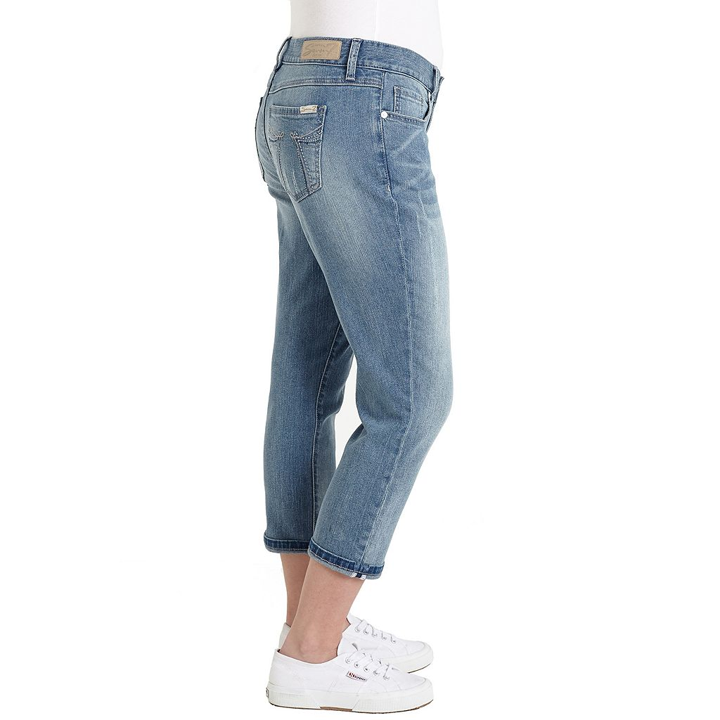 Women's Seven7 Embellished Crop Jeans