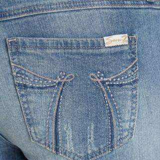 Women's Seven7 Embellished Crop Jeans