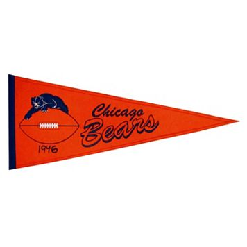 Chicago Bears Throwback Pennant
