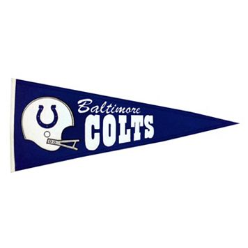 Indianapolis Colts Throwback Pennant