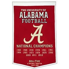 Alabama Crimson Tide Dynasty Banner
