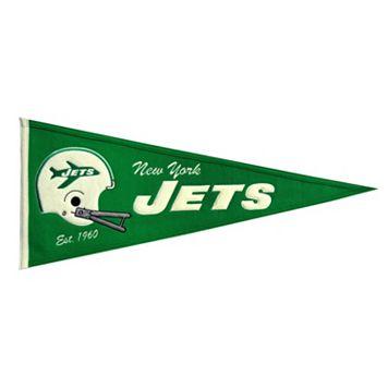 New York Jets Throwback Pennant
