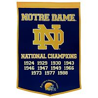 Notre Dame Fighting Irish Dynasty Banner