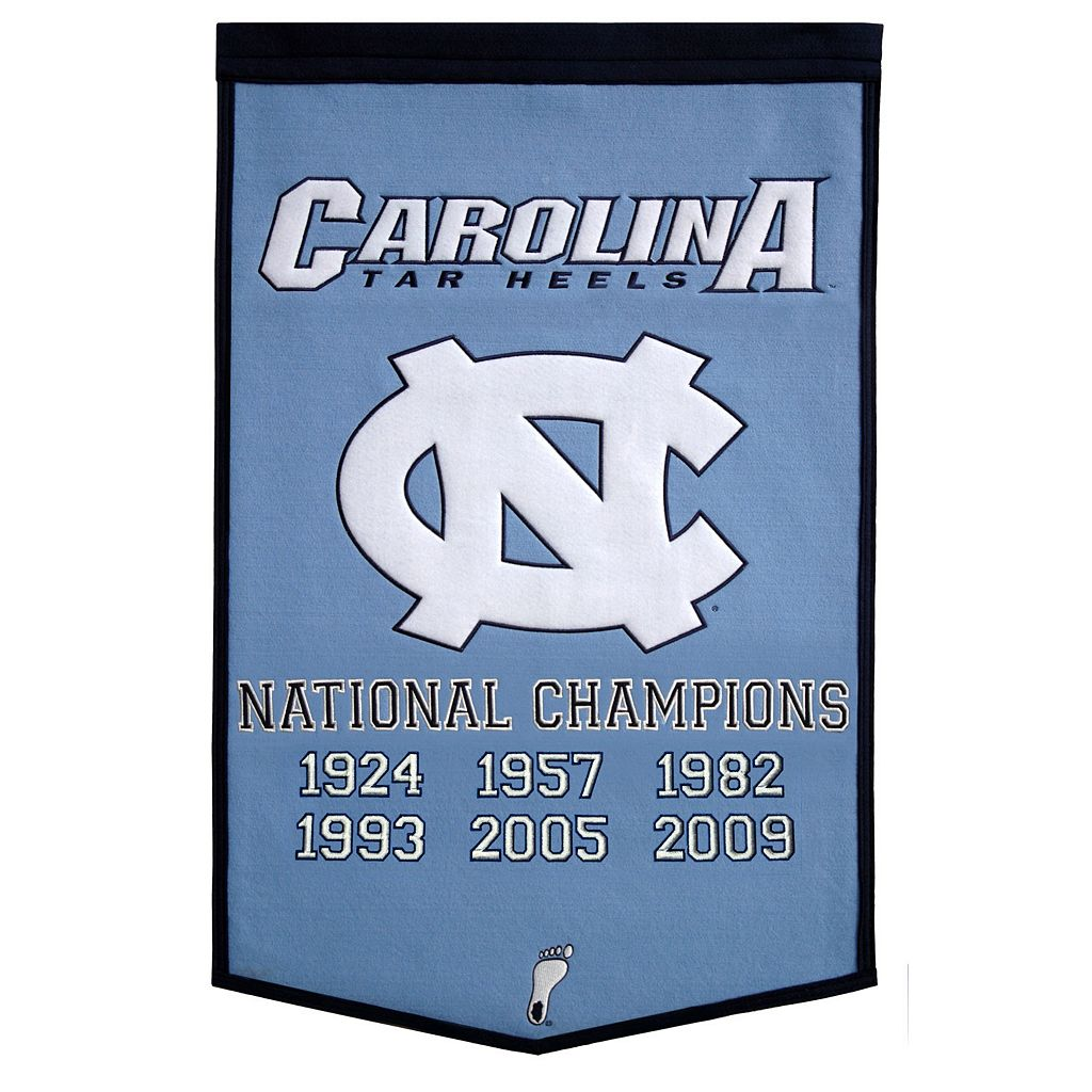 North Carolina Tar Heels Dynasty Banner