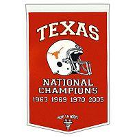 Texas Longhorns Dynasty Banner