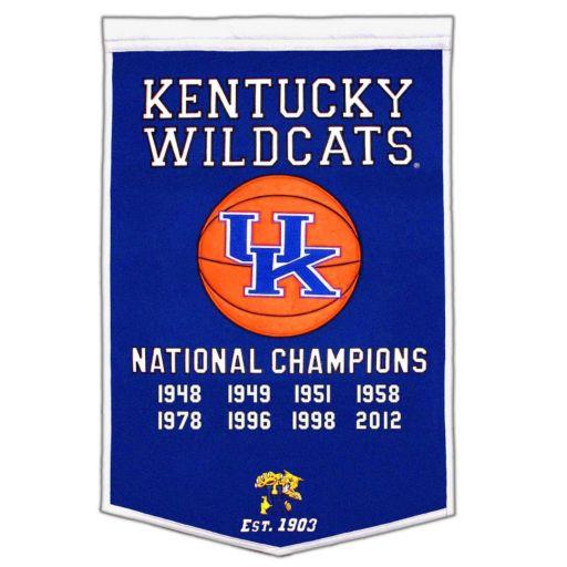 Kentucky Wildcats Dynasty Banner