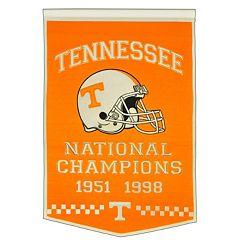 Tennessee Volunteers Dynasty Banner