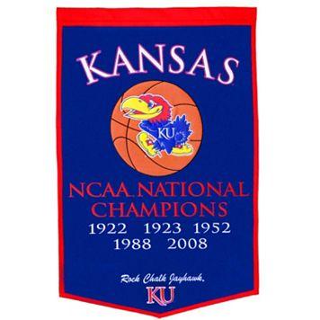 Kansas Jayhawks Dynasty Banner
