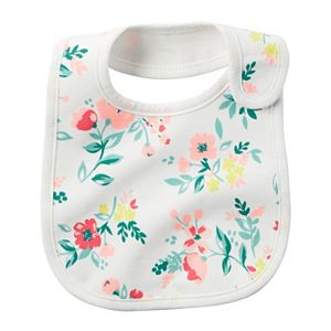 Baby Girl Carter's Girly Pattern Bib
