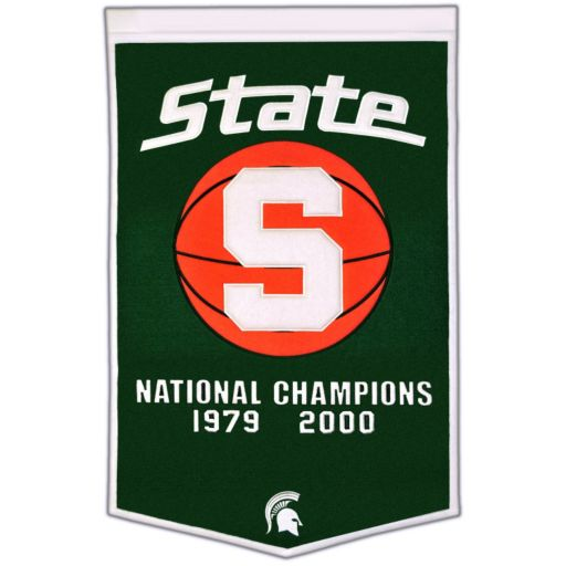 Michigan State Spartans Dynasty Banner