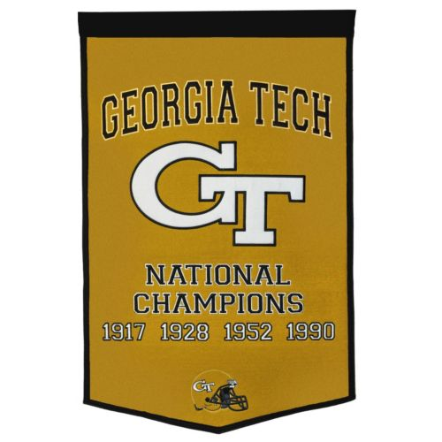 Georgia Tech Yellow Jackets Dynasty Banner