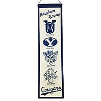 BYU Cougars Heritage Banner