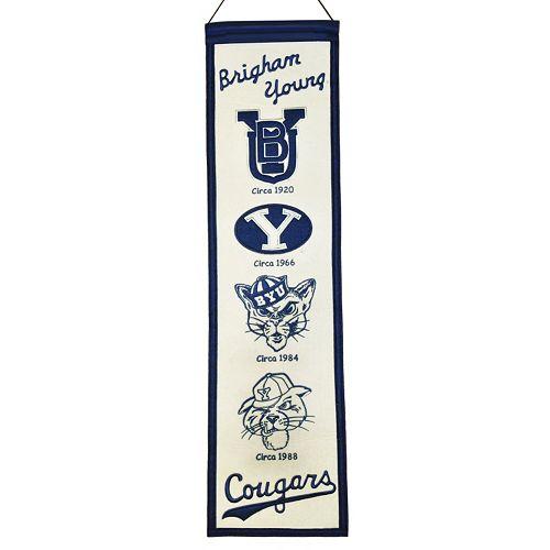 BYU Cougars Heritage Banner