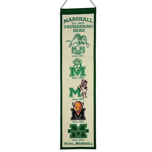 Marshall Thundering Herd Heritage Banner