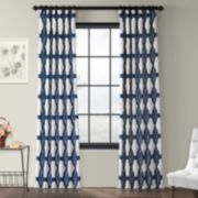 EFF 1-Panel Sorong Lined Window Curtain