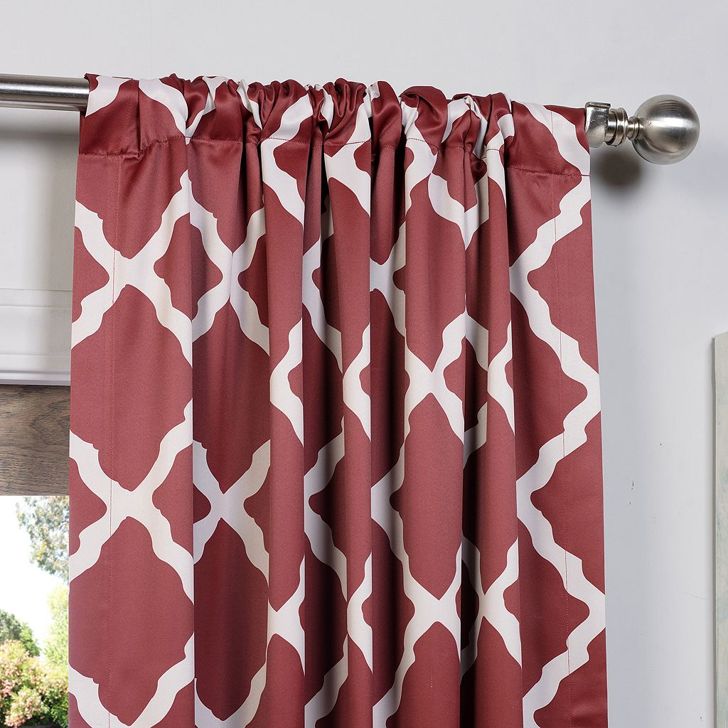 EFF Trellise Blackout Window Curtain