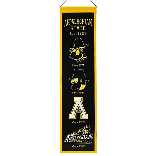 Appalachian State Mountaineers Heritage Banner