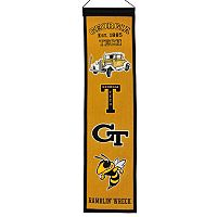 Georgia Tech Yellow Jackets Heritage Banner