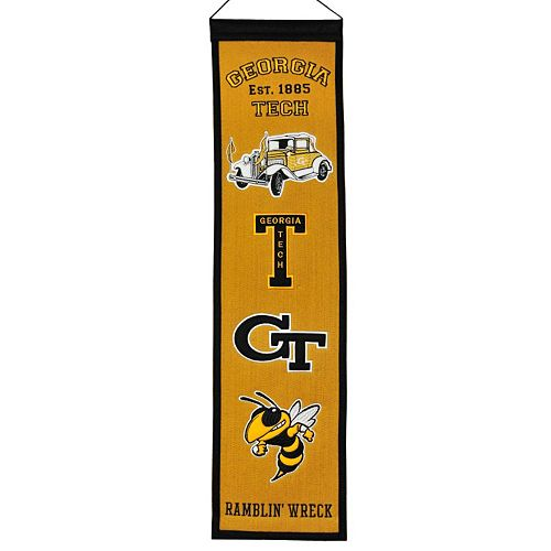 Georgia Tech Yellow Jackets Heritage Banner