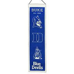 Duke Blue Devils Heritage Banner
