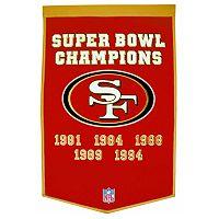 San Francisco 49ers Dynasty Banner
