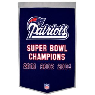 New England Patriots Dynasty Banner