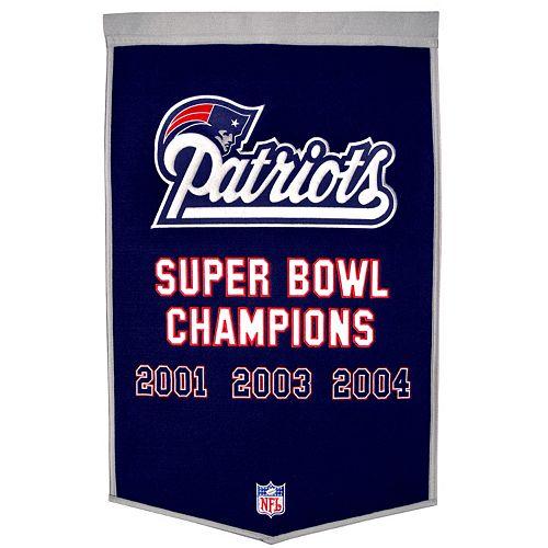 New EnglandPatriots Dynasty Banner