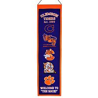 Clemson Tigers Heritage Banner