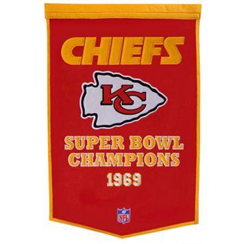 Kansas City Chiefs Dynasty Banner