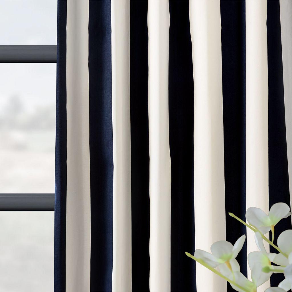 EFF Cabana Lined Window Curtain