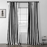 EFF 1-Panel Cabana Lined Window Curtain