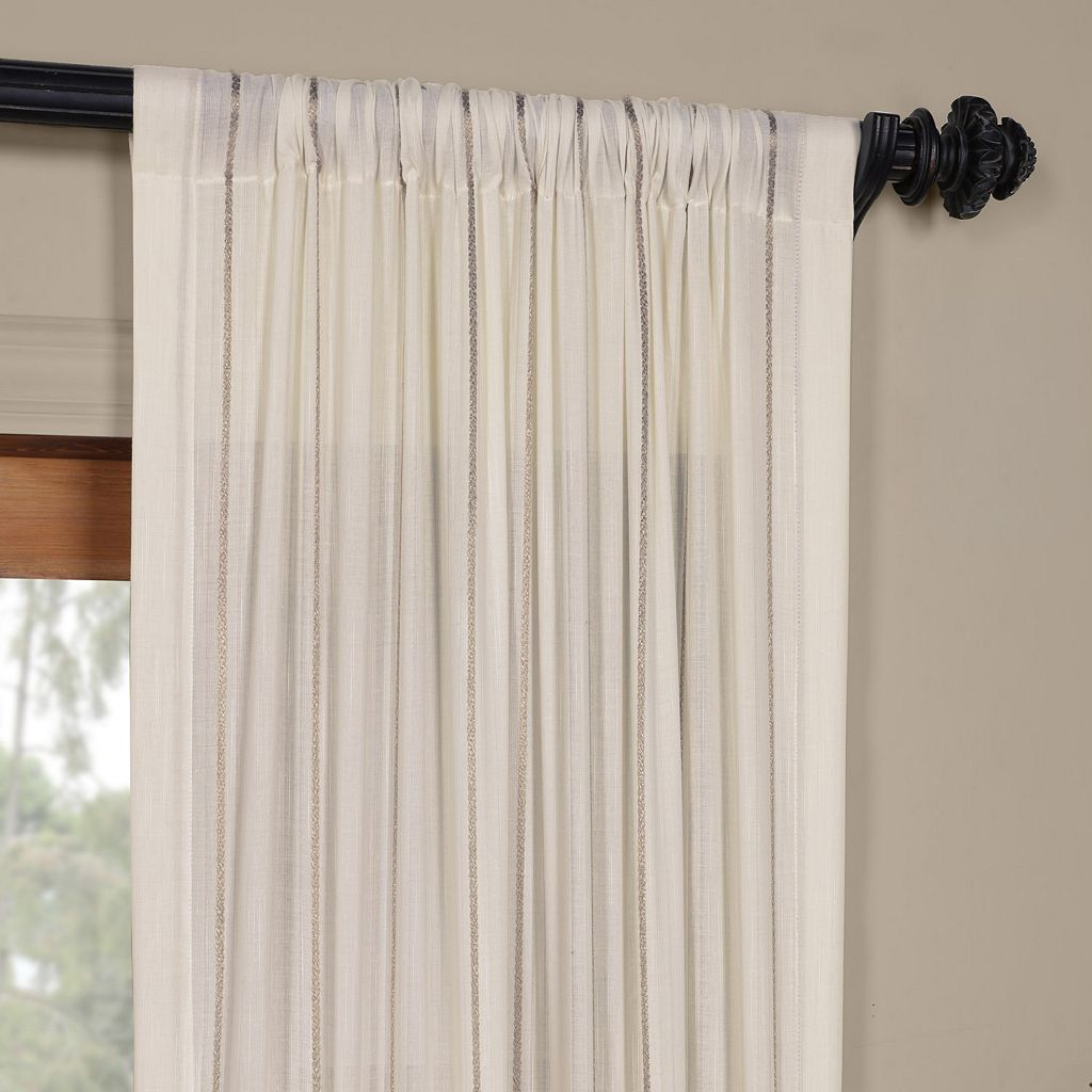 EFF Aruba Sheer Window Curtain