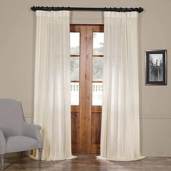 EFF 1-Panel Aruba Sheer Window Curtain