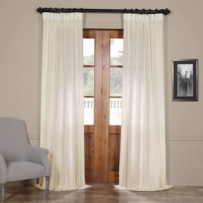 EFF 1-Panel Aruba Sheer Window Curtain