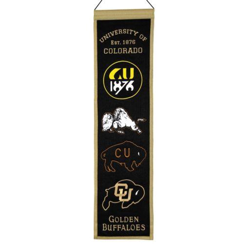 Colorado Buffaloes Heritage Banner