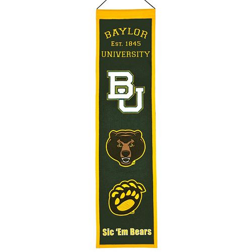Baylor Bears Heritage Banner