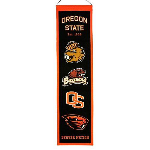 Oregon State Beavers Heritage Banner