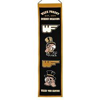 Wake Forest Demon Deacons Heritage Banner