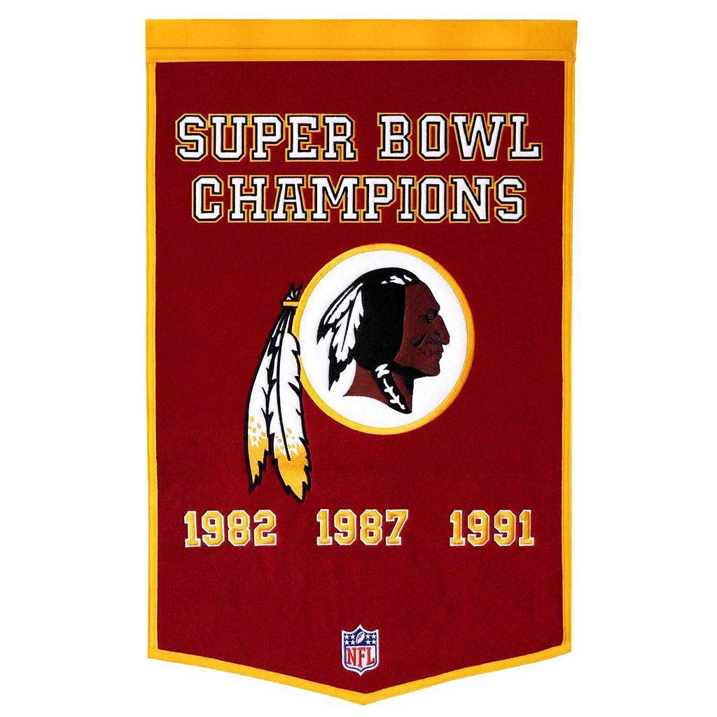 Washington Redskins Dynasty Banner