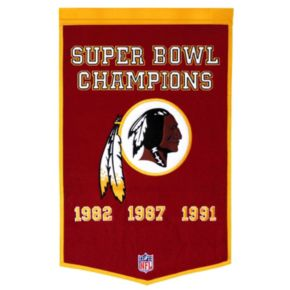 Washington Redskins Dynasty Banner
