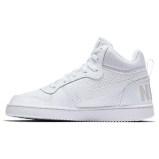 Nike Court Borough Mid Grade School Boys' Basketball Shoes