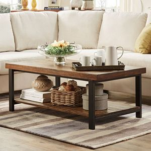 HomeVance Kaden Open Base Coffee Table - Drake coffee table