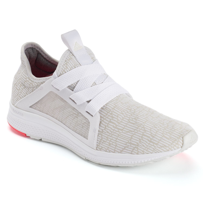 adidas Edge Lux Women\u0027s Running Shoes. Ash Pearl White Black