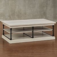 HomeVance Cresthill Metal Frame Coffee Table
