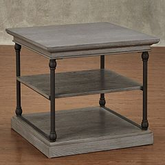 HomeVance Cresthill Metal Frame End Table