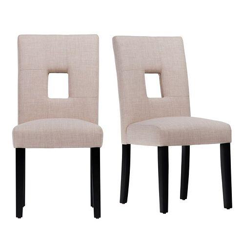 HomeVance Harskamp Dining Chair 2-piece Set