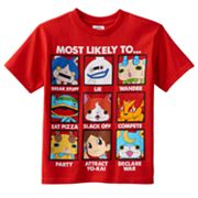 Boys 4-7 Yo-Kai Watch 'Most Likely To' Tee