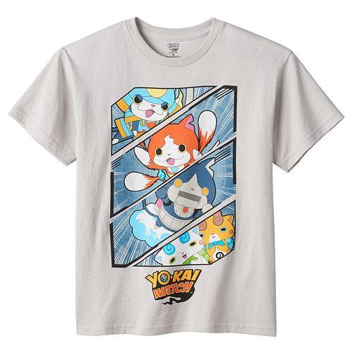 Boys 4-7 Yo-Kai Watch Character Graphic Tee
