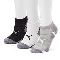 Women's PUMA 3-pk. Cushioned Low-Cut Socks
